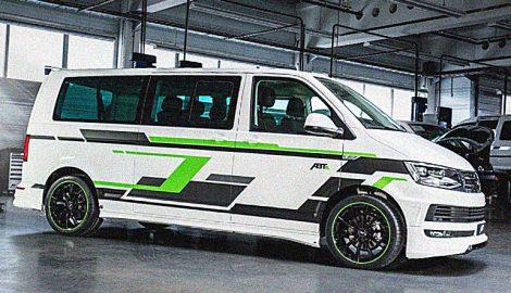 e-Transporter - электрический автомобиль от VW и ABT!